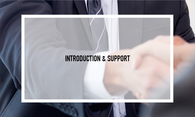 INTRODUCTION & SUPPORT